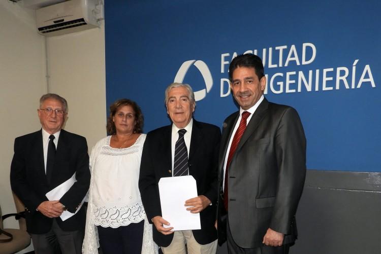 Docentes de la Facultad fueron reconocidos como profesores eméritos de la UNCUYO