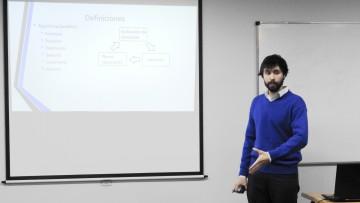 Gustavo Ullman presentó su Proyecto Final de Mecatrónica