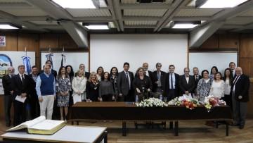 Asumieron los funcionarios que se desempeñarán en el período 2018-2022