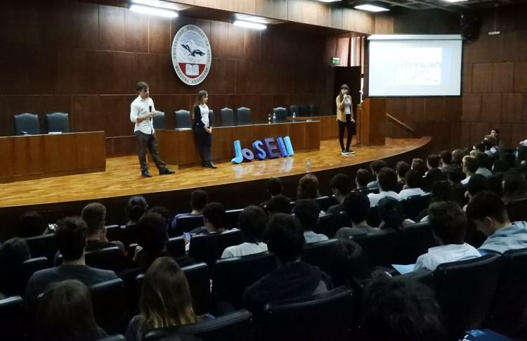 Reunión informativa para estudiantes de Ingeniería industrial