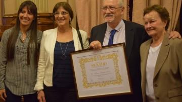 Profesor de la Facultad de Ingeniería recibió distinción del Senado de la Nación