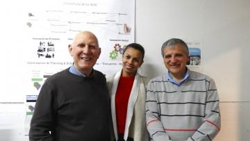 Centro de Estudios  de la Facultad participa de programa de intercambio científico con universidades de Francia
