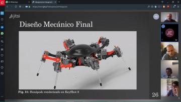 Estudiantes defendieron de forma virtual su Proyecto Final de Mecatrónica