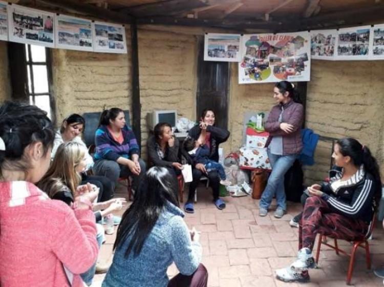 La Facultad participó de la construcción de un espacio integrador en Godoy Cruz