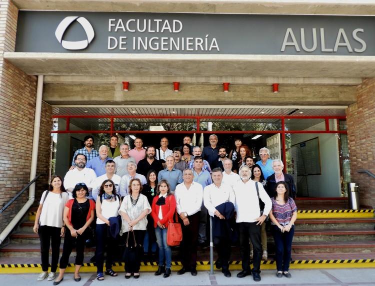 Representantes de 25 carreras de Arquitectura de Sudamérica se reunieron en la Facultad
