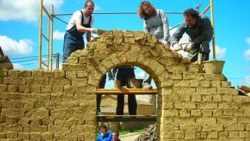 Se realizará curso sobre arquitectura y técnicas constructivas en tierra cruda