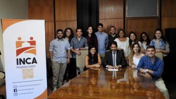 El Decano y la Vicedecana se reunieron con integrantes de INCA