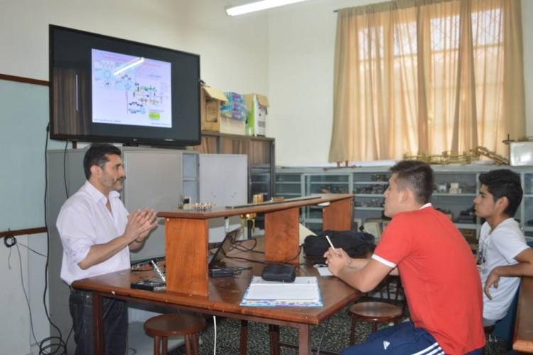 Movilidad docente: Profesor de la Facultad fue invitado a dar un curso en Bolivia