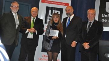 Docente de la Facultad recibió un reconocimiento por su trayectoria profesional y académica