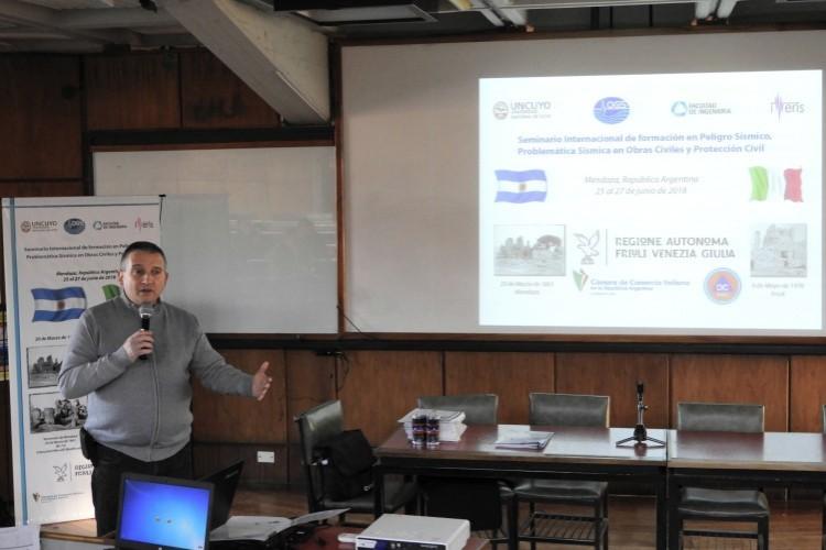 Profesor explica sobre la actividad sísmica de Mendoza