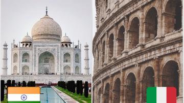 Charlas informativas sobre intercambios en India e Italia