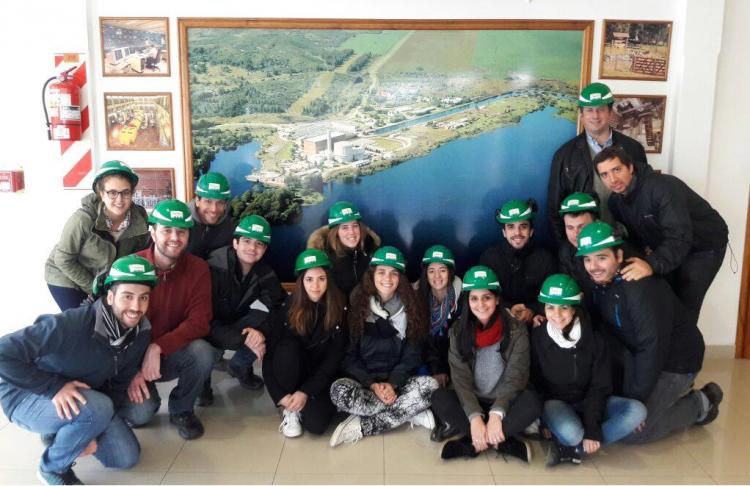 Estudiantes de Ingeniería Industrial realizaron Viaje de Fin de Curso