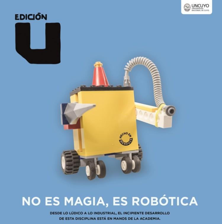 No es magia, es robótica