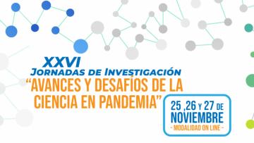 Llegan las XXVI Jornadas de Investigación de la UNCuyo