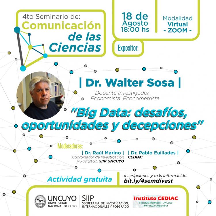 Big Data: desafíos, oportunidades y decepciones