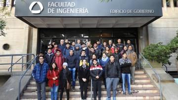 Presentaron la Carrera de Ingeniería Civil a Estudiantes de Secundario