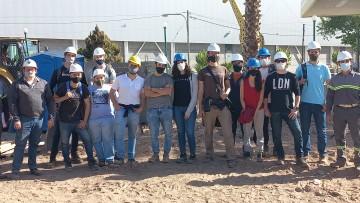 Estudiantes de Ingeniería Civil visitaron obras de AySAM