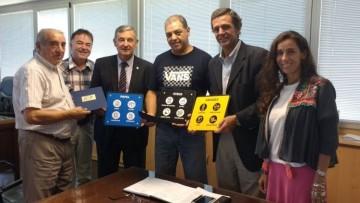Carlos Tejada fue reconocido por su desempeño en UNCUYO Separa Sus Residuos