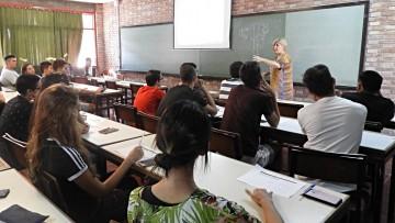 Se realizó Ambientación Universitaria a los aspirantes 2019