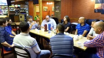 Egresados se reunieron para intercambiar ideas y proyectos
