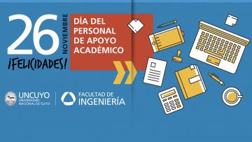 ¡Feliz día del Personal de Apoyo Académico!