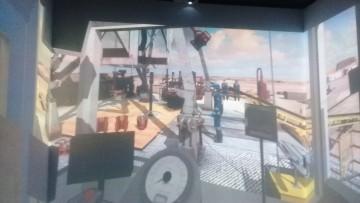 Trabajan en nuevas aplicaciones del simulador de realidad virtual para prácticas de petróleo