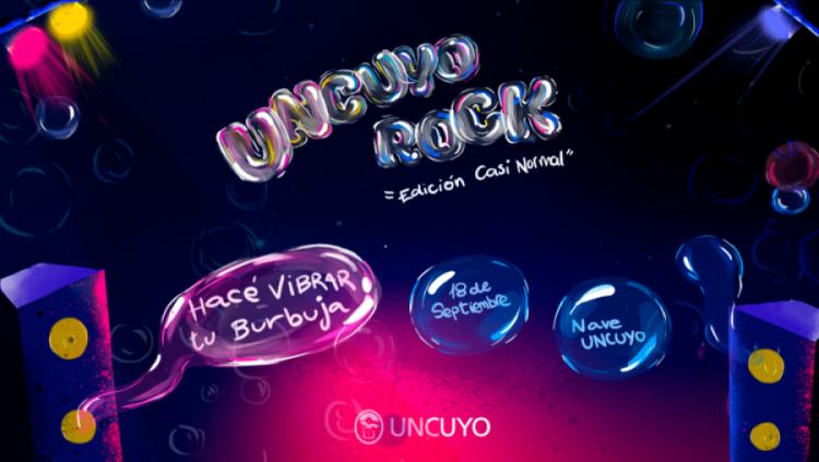 Día del estudiante: sumate al UNCUYO Rock a través de Señal U